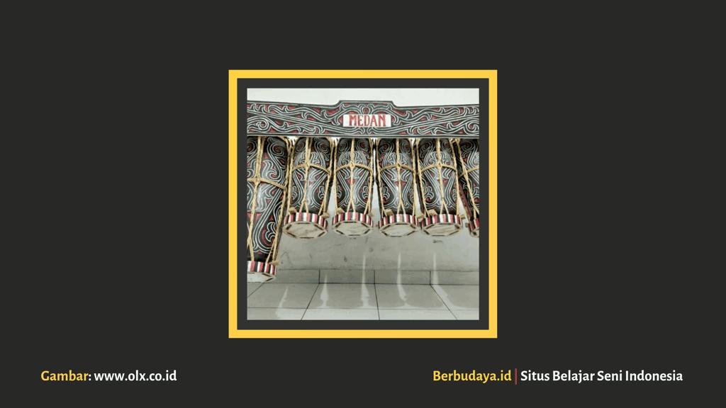 alat musik tradisional batak - taganing