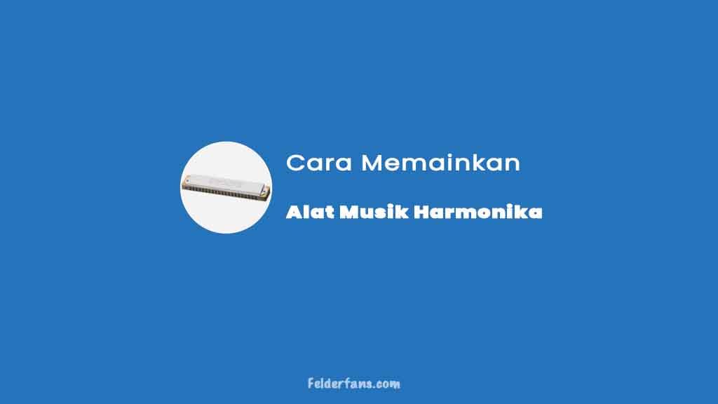 cara memainkan alat musik harmonika