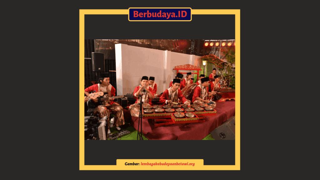 alat musik tradisional jakarta - gambang kromong